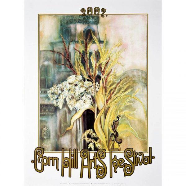 2007 Corn Hill Arts Festival Poster