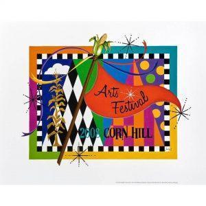 2008 Corn Hill Arts Festival Poster