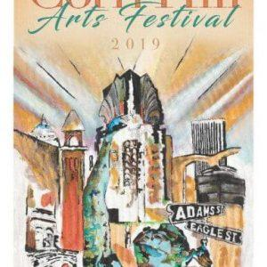 2019 Corn Hill Arts Festival Poster