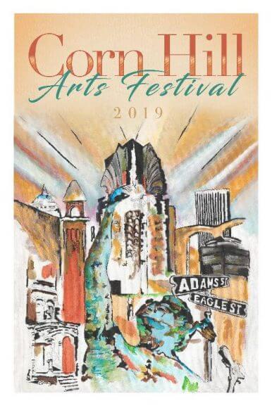 2019 Corn Hill Arts Festival Poster