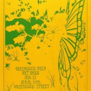 1969 Corn Hill Arts Festival Poster