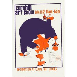 1970 Corn Hill Arts Festival Poster
