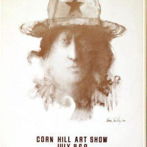 1971 Corn Hill Arts Festival Poster
