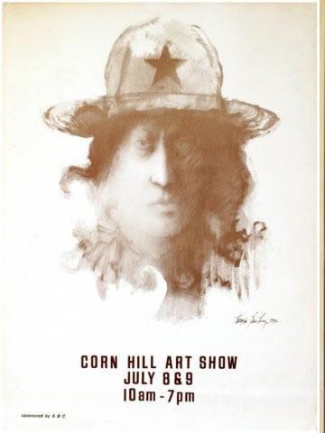 1971 Corn Hill Arts Festival Poster
