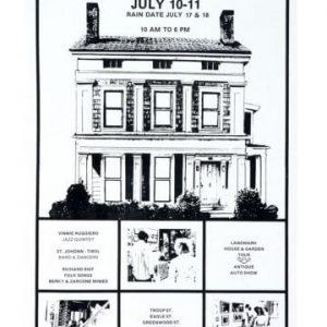 1976 Corn Hill Arts Festival Poster