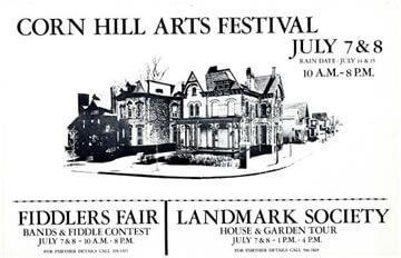 1979 Corn Hill Arts Festival Poster