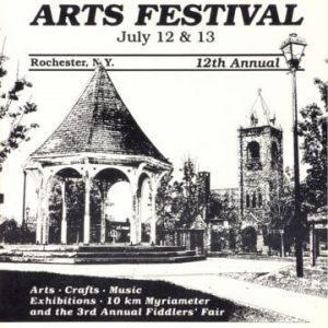 1980 Corn Hill Arts Festival Poster