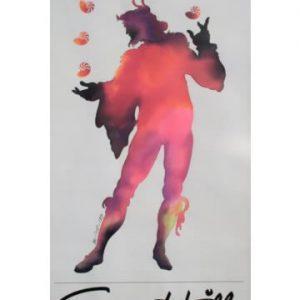 1983 Corn Hill Arts Festival Poster