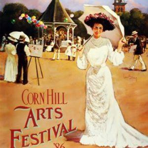 1986 Corn Hill Arts Festival Poster