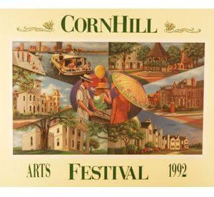 1992 Corn Hill Arts Festival Poster