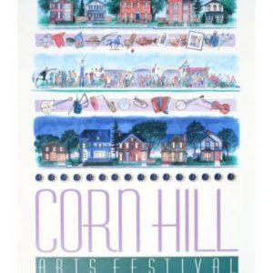1994 Corn Hill Arts Festival Poster