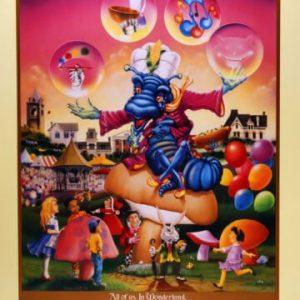 1996 Corn Hill Arts Festival Poster