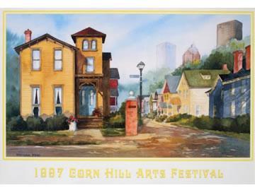 1997 Corn Hill Arts Festival Poster