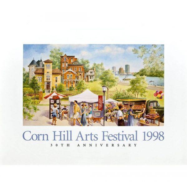 1998 Corn Hill Arts Festival Poster