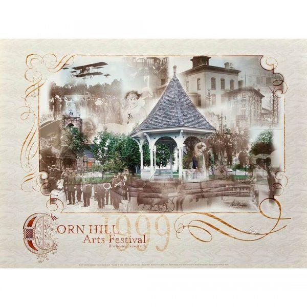1999 Corn Hill Arts Festival Poster