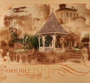 1999 Corn Hill Arts Festival Poster