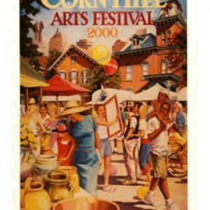 2000 Corn Hill Arts Festival Poster