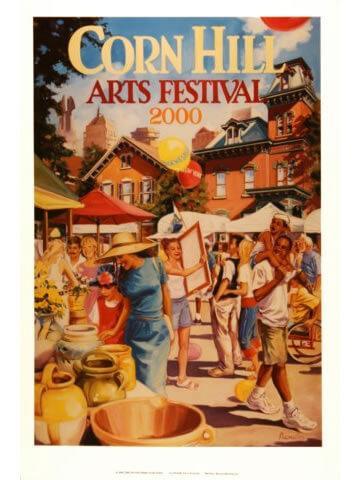 2000 Corn Hill Arts Festival Poster