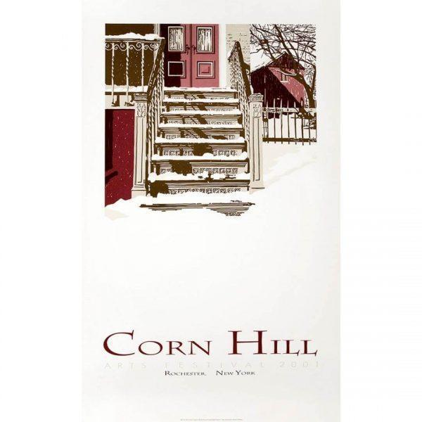 2001 Corn Hill Arts Festival Poster
