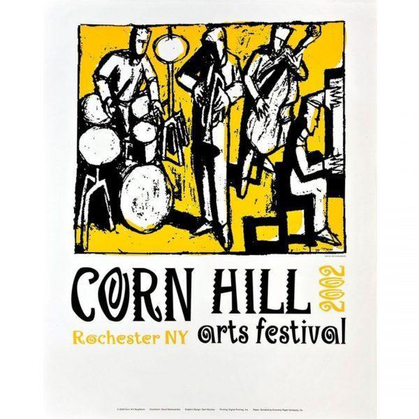2002 Corn Hill Arts Festival Poster