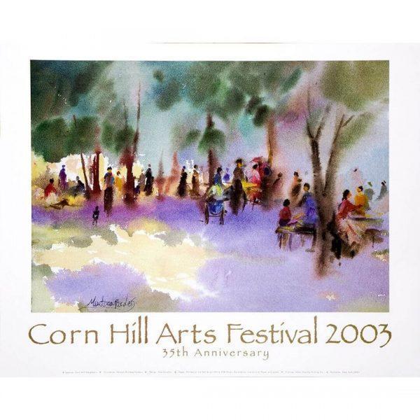 2003 Corn Hill Arts Festival Poster