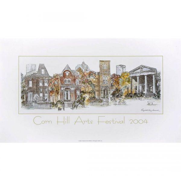 2004 Corn Hill Arts Festival Poster