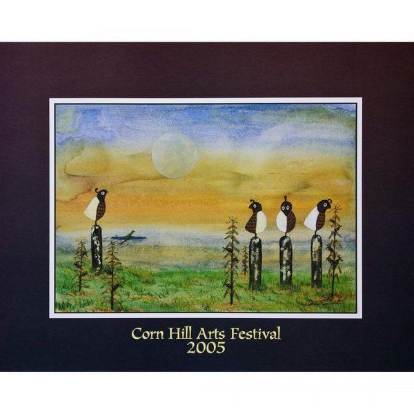 2005 Corn Hill Arts Festival Poster