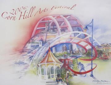 2006 Corn Hill Arts Festival Poster