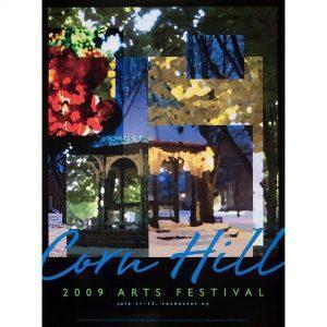 2009 Corn Hill Arts Festival Poster