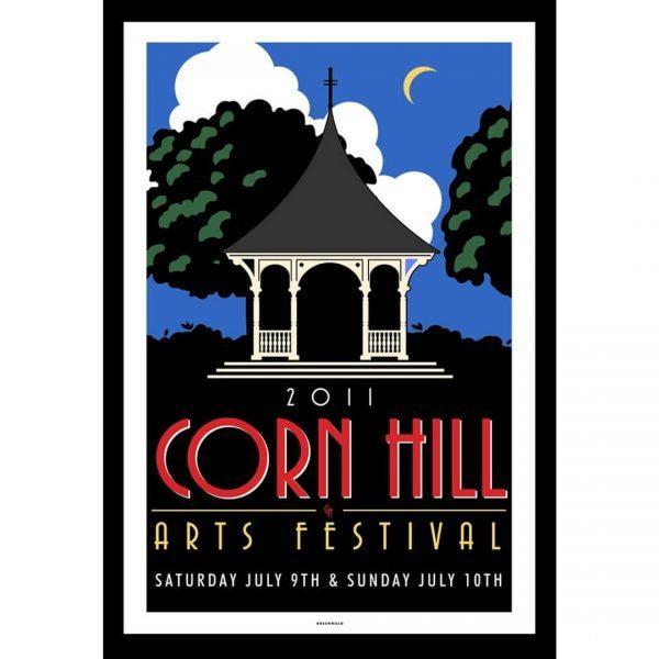 2011 Corn Hill Arts Festival Poster