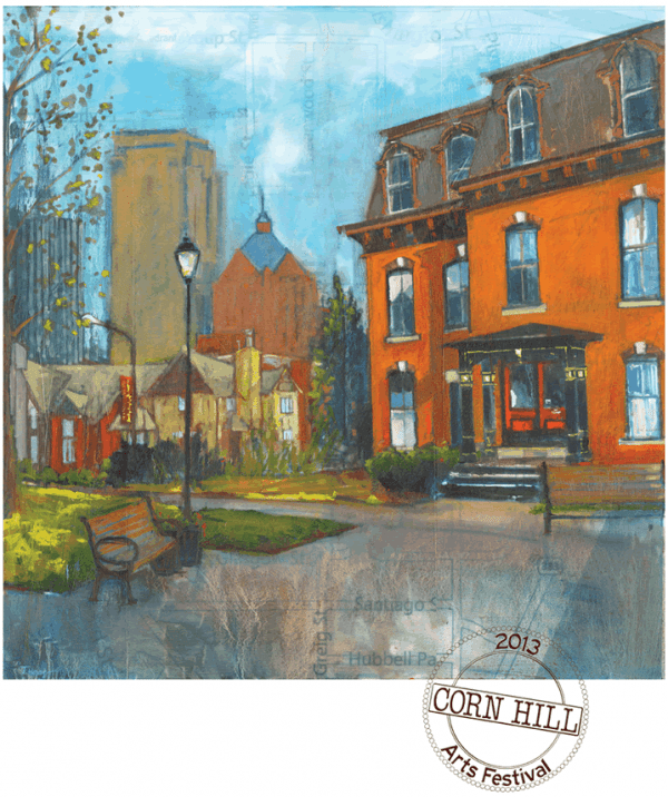 2013 Corn Hill Arts Festival Poster