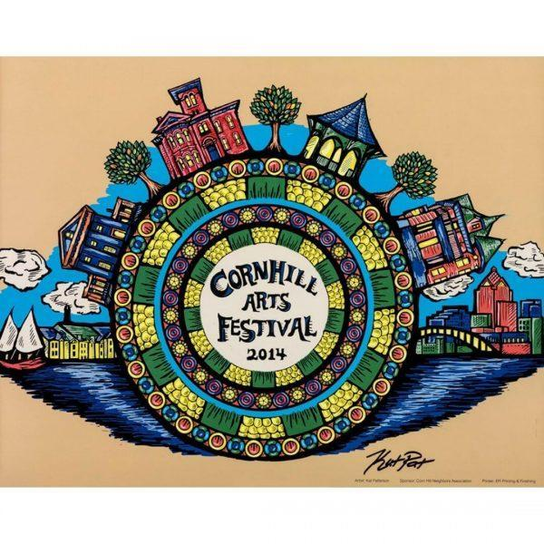 2014 Corn Hill Arts Festival Poster
