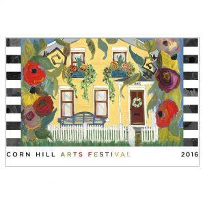 2016 Corn Hill Arts Festival Poster