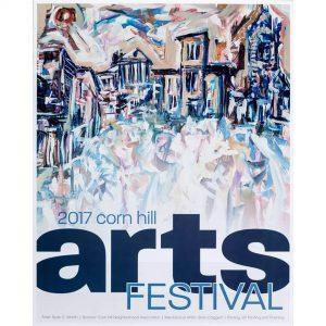 2017 Corn Hill Arts Festival Poster