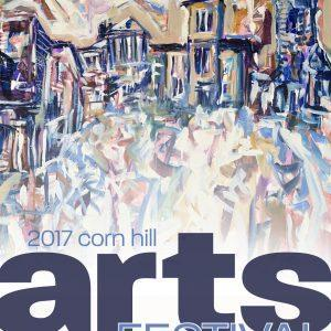 2017 Corn Hill Arts Festival Poster