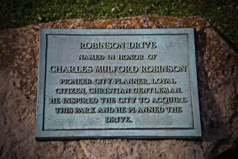 Charles M. Robinson Grave