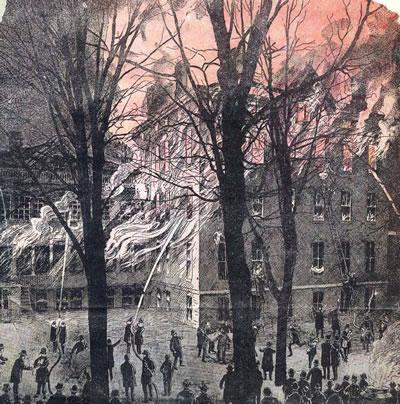 Corn Hill Orphanage Fire 19th Century