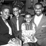Reverend Derrill A. Blue and family