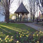 gazebo in spring lunsford circle