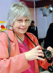janet mlinar with camera