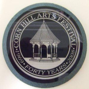40th Anniversary Corn Hill Coaster