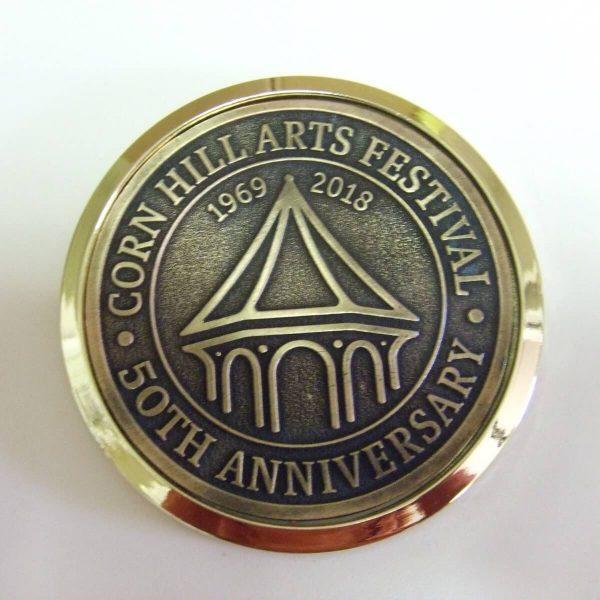 50th Anniversary Corn Hill Coaster