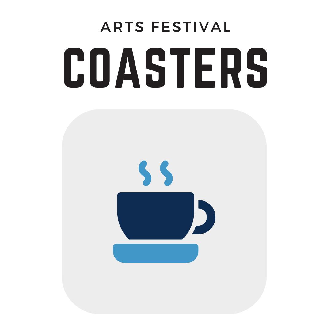 corn hill arts festival coasters