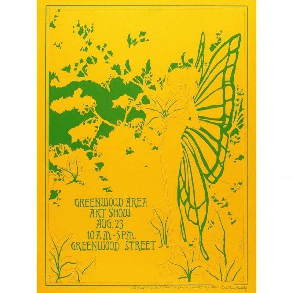 1969 Corn Hill Arts Festival Poster