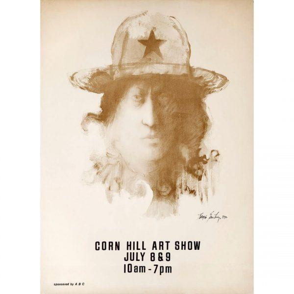 1972 Corn Hill Arts Festival Poster