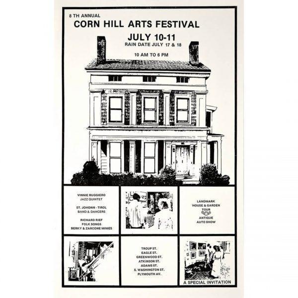 1976 Corn Hill Arts Festival Poster
