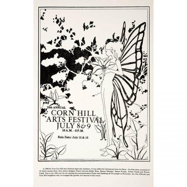 1978 Corn Hill Arts Festival Poster