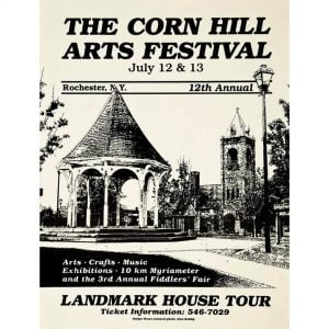 1980 Corn Hill Arts Festival Poster