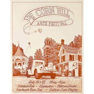 1982 Corn Hill Arts Festival Poster
