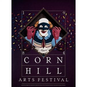 1984 Corn Hill Arts Festival Poster